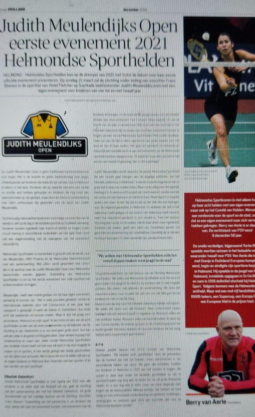 Judith Meulendijks paginagroot in Weekblad De Loop