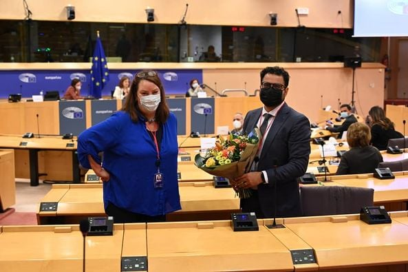 Chahim vicepresident in Europees parlement