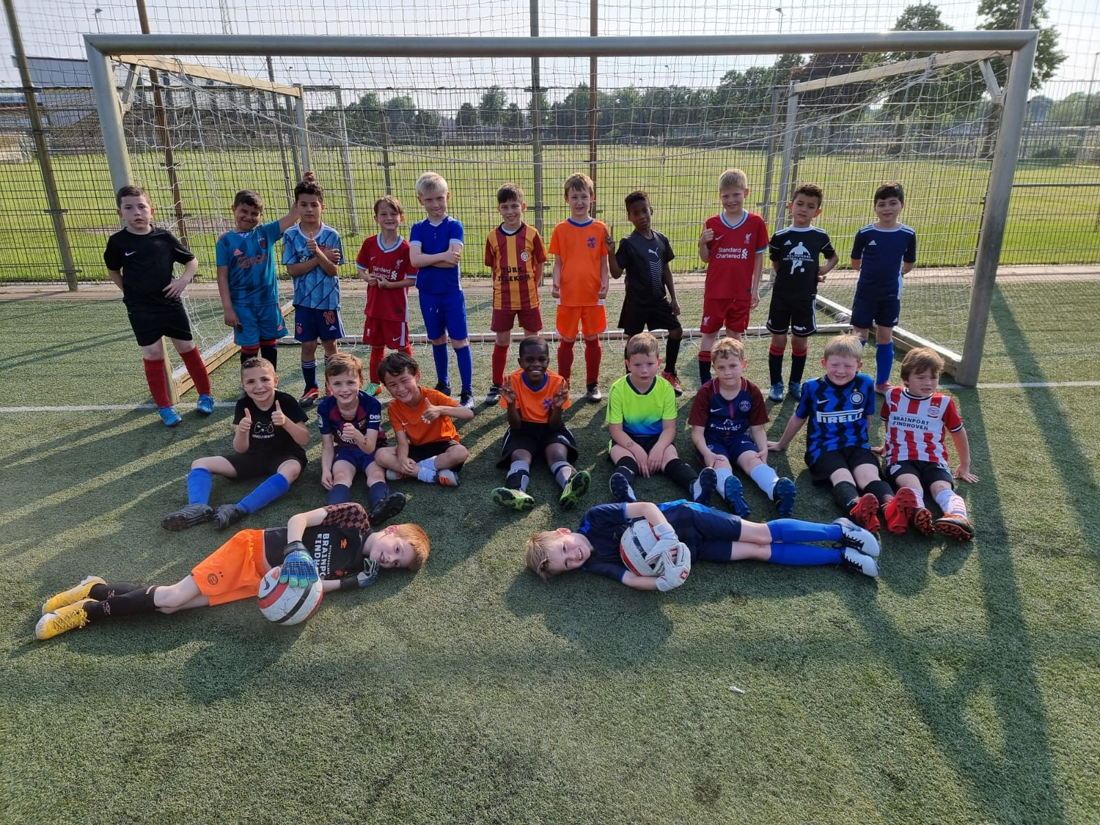 Drie SV de Braak -8 teams in Gebroeders Van de Kerkhof Cup