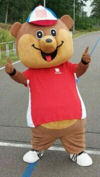 BB Bear mascotte Helmondse Sporthelden