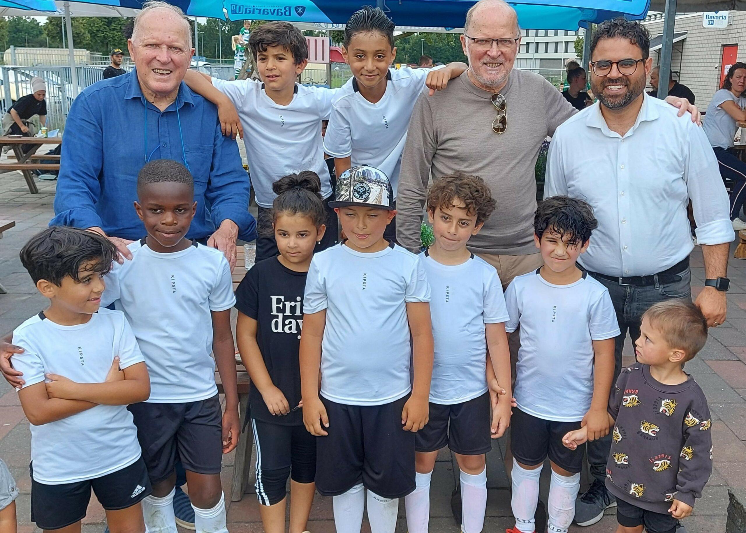 Cup levert SV de Braak drie nieuwe jeugdleden op